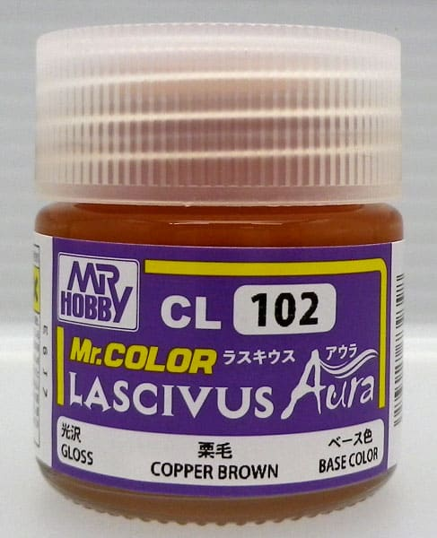 Mr. Color Lascivus Aura Gloss Copper Brown CL102