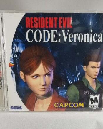 Resident Evil CODE: Veronica Front