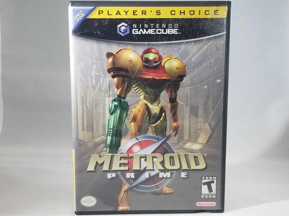GameCube Metroid Prime Front
