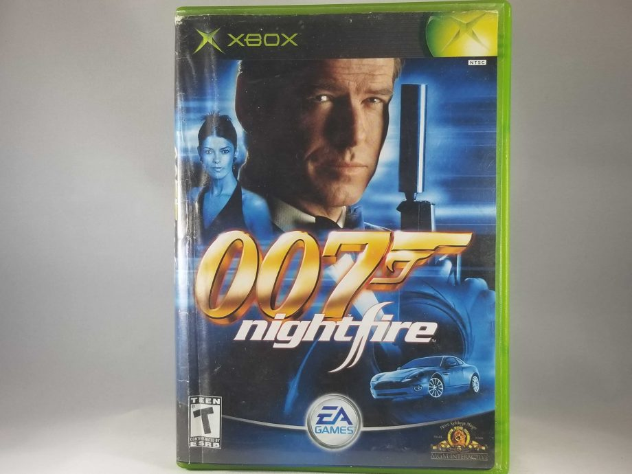 Xbox 007 Nightfire Front