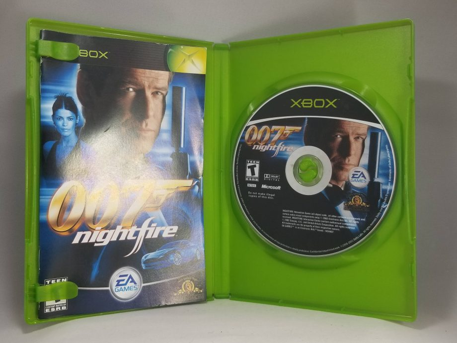 Xbox 007 Nightfire Disc