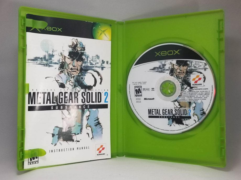 Metal Gear Solid 2 Substance Disc