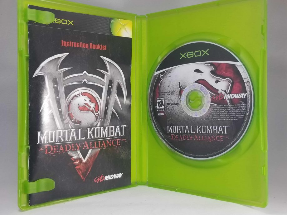 Mortal Kombat Deadly Alliance Disc