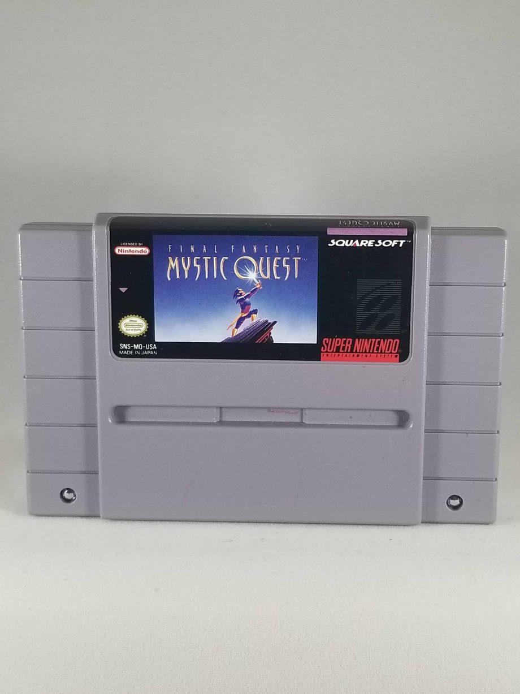 Final Fantasy Mystic Quest Front