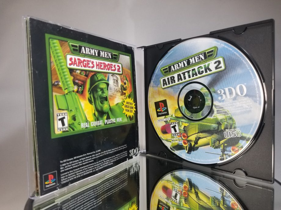 Army Men Air Attack 2 Back