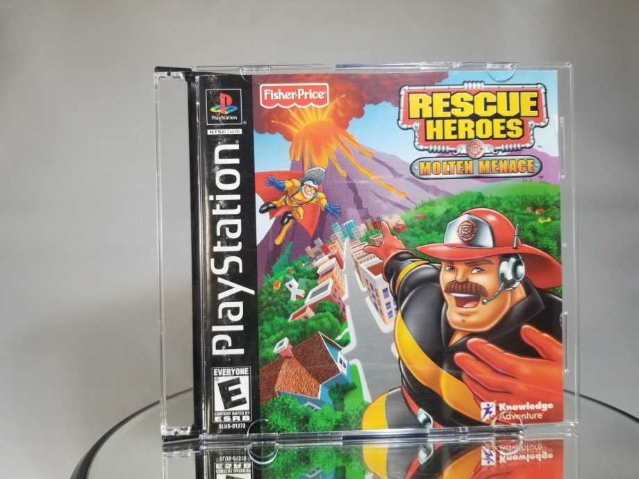 Rescue Heroes Molten Menace Front