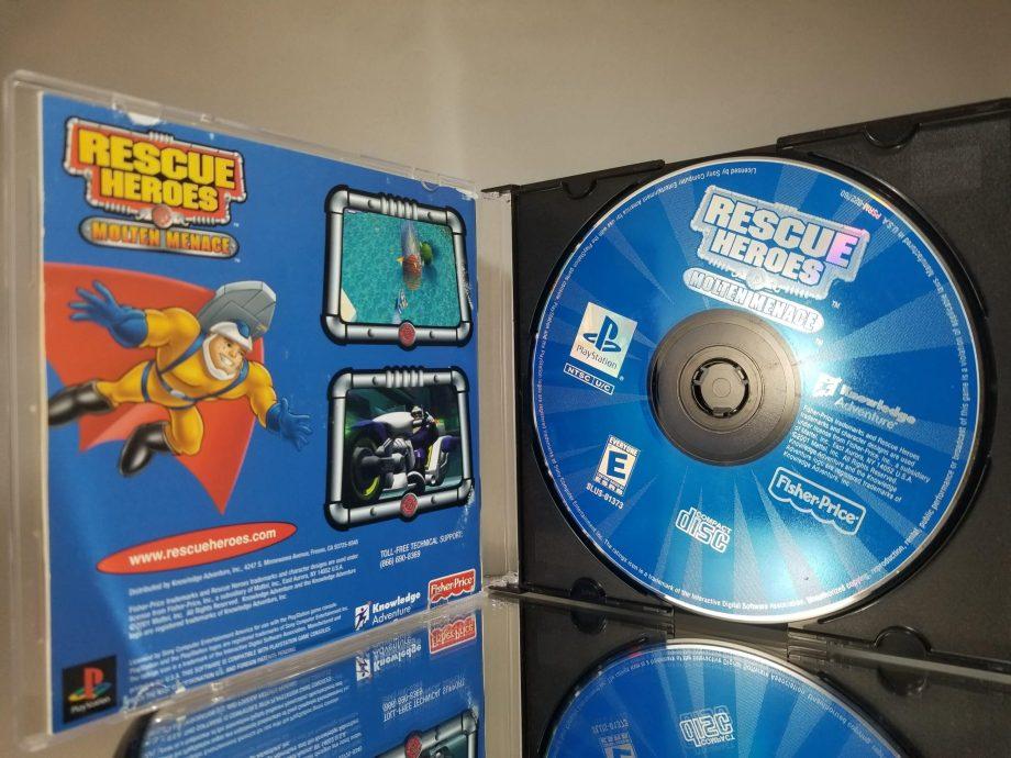 Rescue Heroes Molten Menace Disc