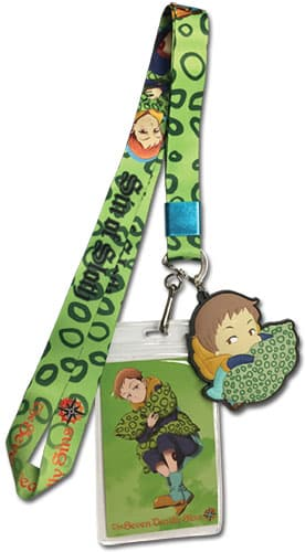 The Seven Deadly Sins King Lanyard