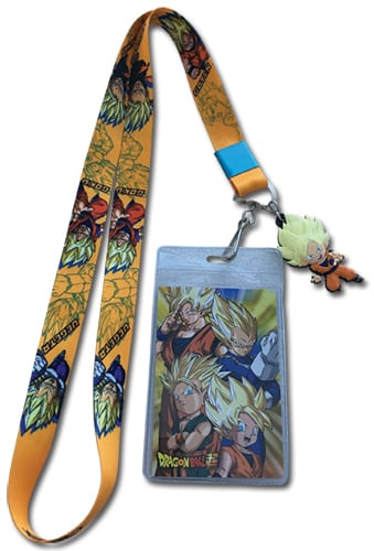 SD Super Saiyan Group Lanyard