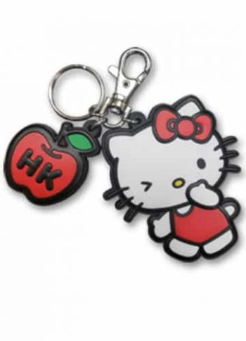Hello Kitty PVC Keychain