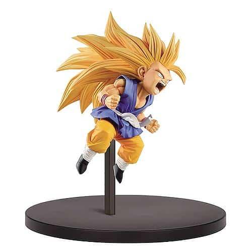Kid Super Saiyan 3 Son Goku Figure Pose 1