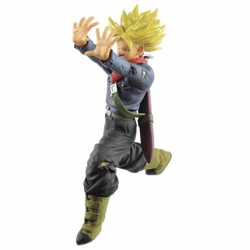 Future Super Saiyan Trunks Galick Gun Figure Pose 1