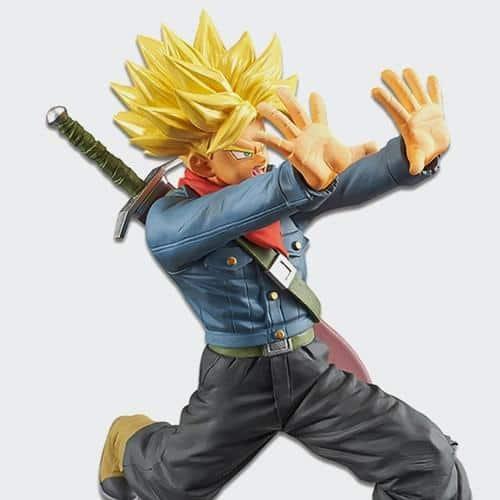 Future Super Saiyan Trunks Galick Gun Figure Pose 2