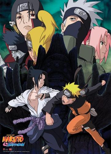 Naruto VS Sasuke Wall Scroll