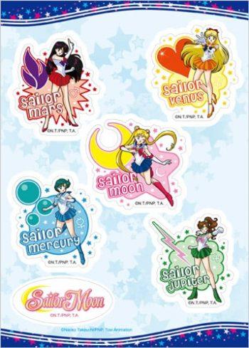 Sailor Moon Group Sticker Set