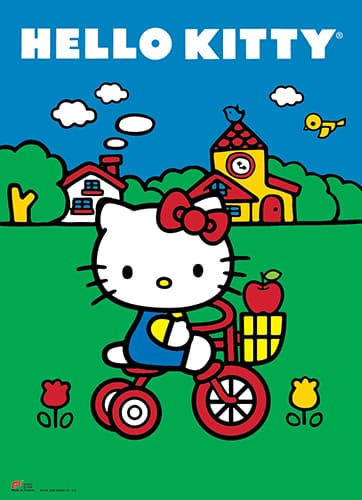 Hello Kitty Classic Wall Scroll