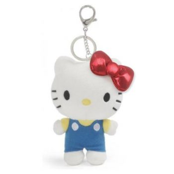 Hello Kitty Plush Keychain