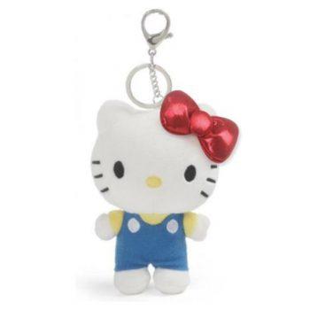Hello Kitty Plush Keychain
