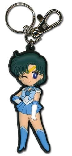Sailor Mercury PVC Keychain