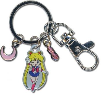 Sailor Moon Metal Keychain
