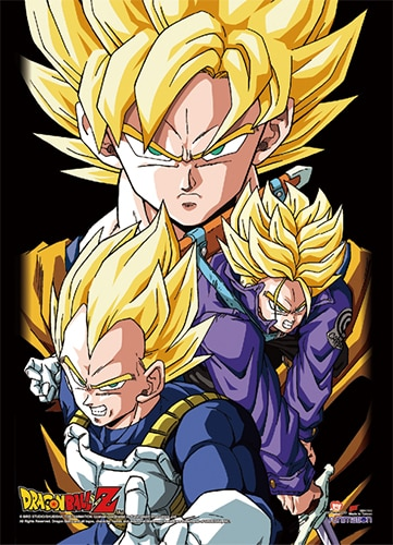 Dragon Ball Z Group 2 Wall Scroll