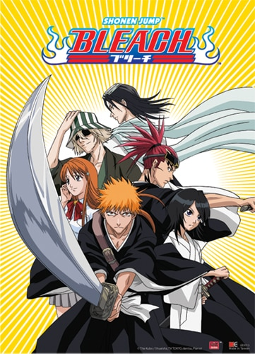 Bleach Ichigo Team Wall Scroll