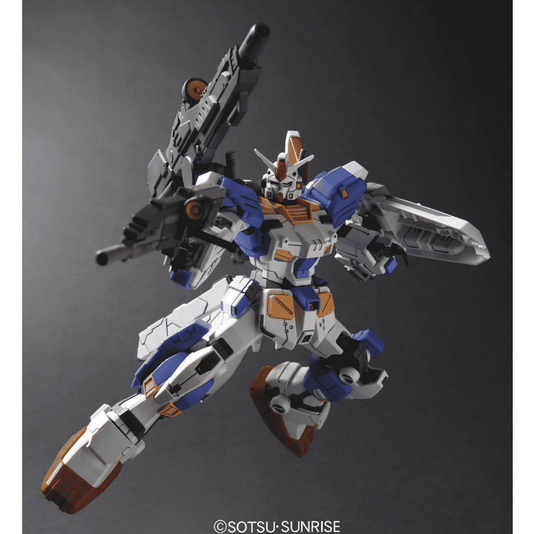 High Grade RX-78-3 Full Armor Gundam 7th Pose 3