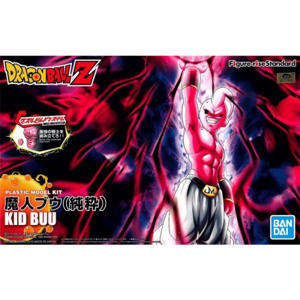 Kid Buu Figure Rise Standard Package Renew Version Box