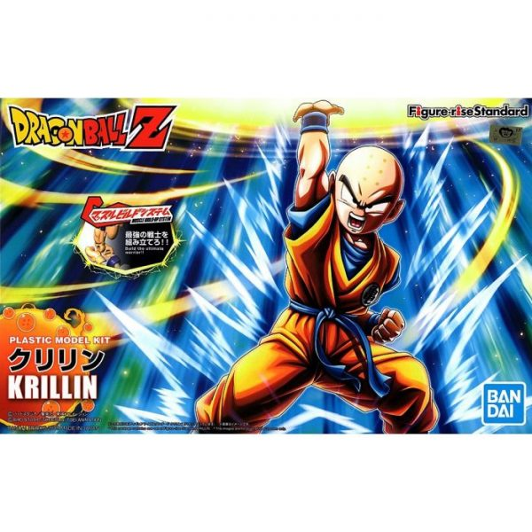 Krillin Figure Rise Package Renewal Version Box