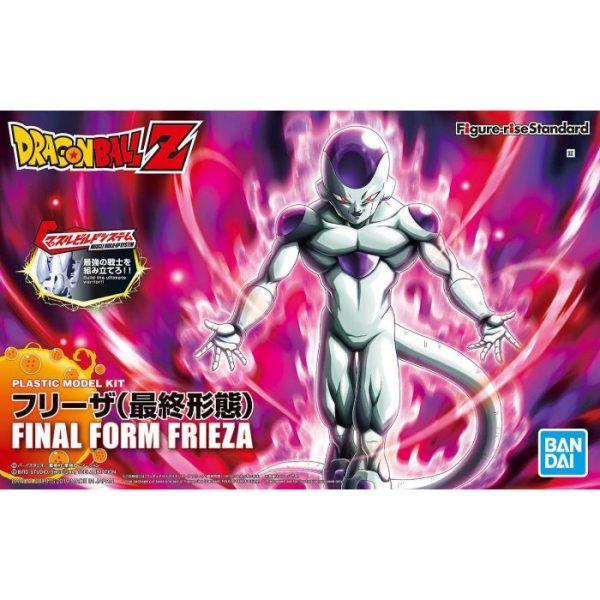 Final Form Frieza Figure Rise Package Renewal Version Box