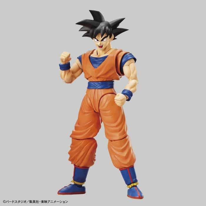 Son Goku Figure Rise Kit Package Renewal Version Pose 1