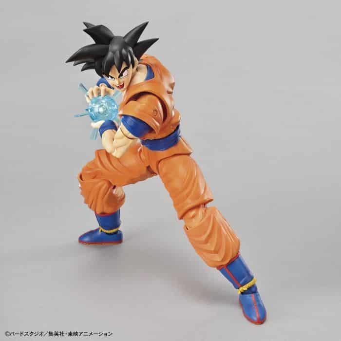 Son Goku Figure Rise Kit Package Renewal Version Pose 3