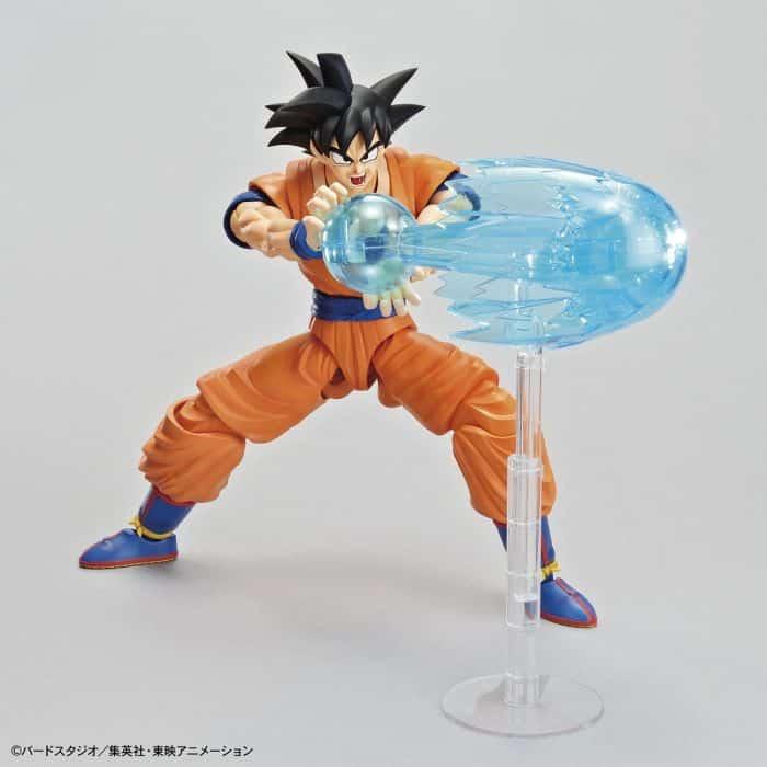 Son Goku Figure Rise Kit Package Renewal Version Pose 4