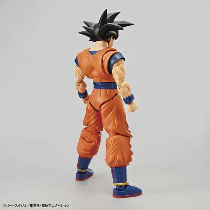 Son Goku Figure Rise Kit Package Renewal Version Pose 2