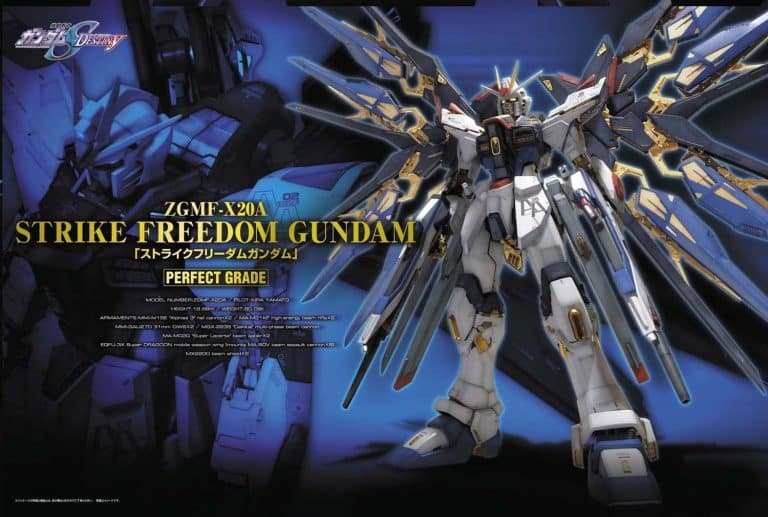 Perfect Grade Strike Freedom