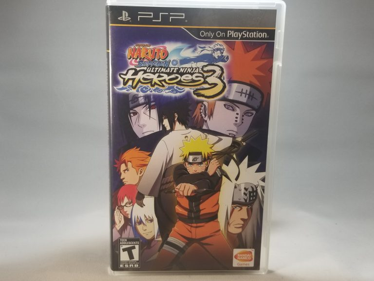 Naruto Shippuden Ultimate Ninja Heroes 3 Front