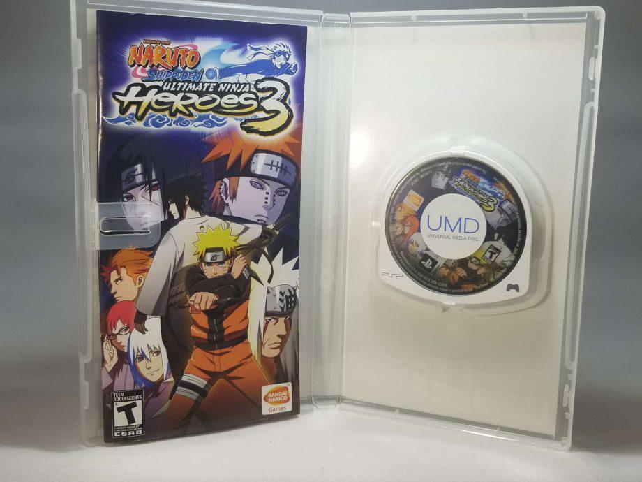 Naruto Shippuden Ultimate Ninja Heroes 3 Disc
