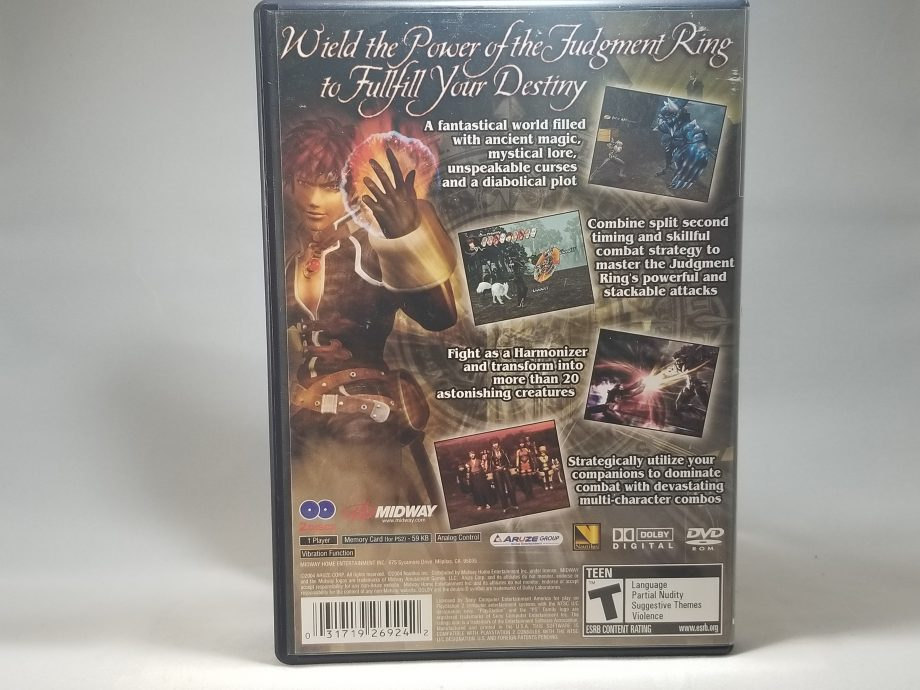 Shadow Hearts Covenant Back