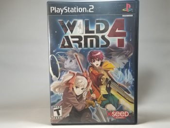 Wild Arms 4 Front
