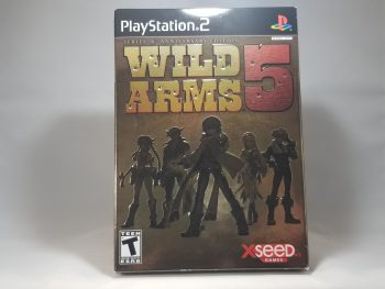 Wild Arms 5 Anniversary Edition Front