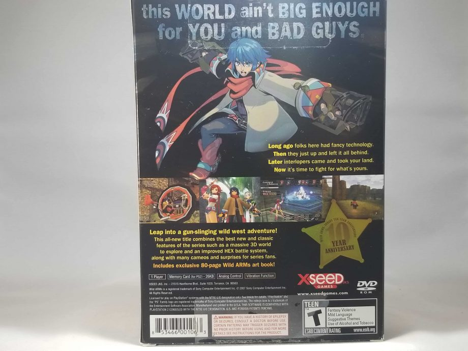 Wild Arms 5 Anniversary Edition Bacl