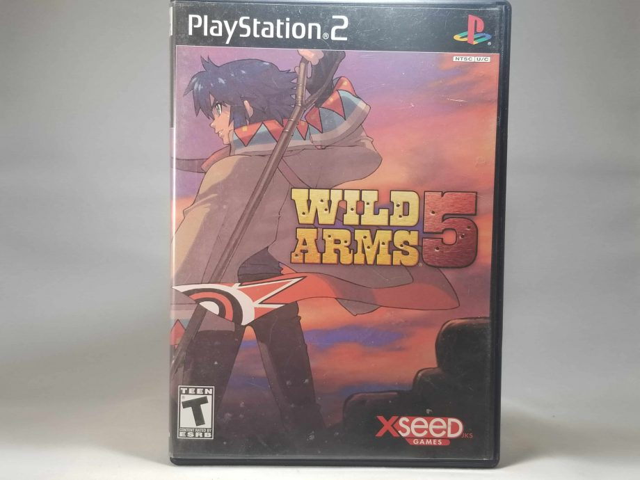 Wild Arms 5 Anniversary Edition Front 2
