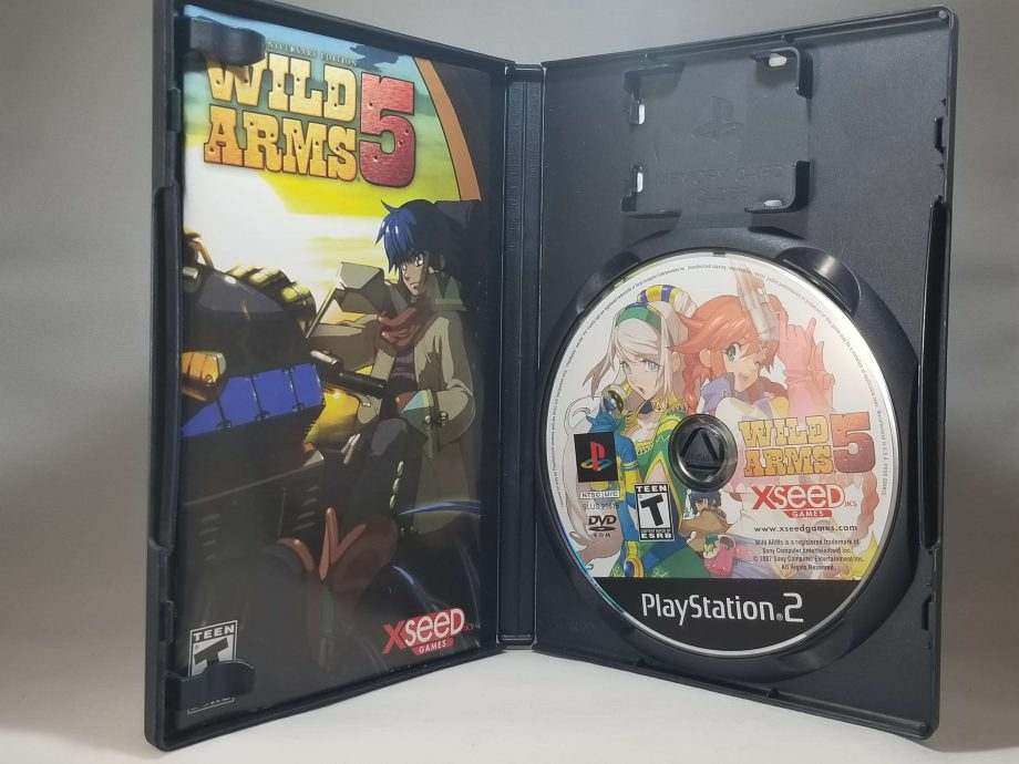 Wild Arms 5 Anniversary Edition Disc