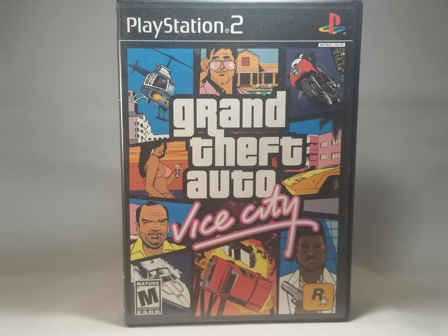 Grand Theft Auto Vice City Front