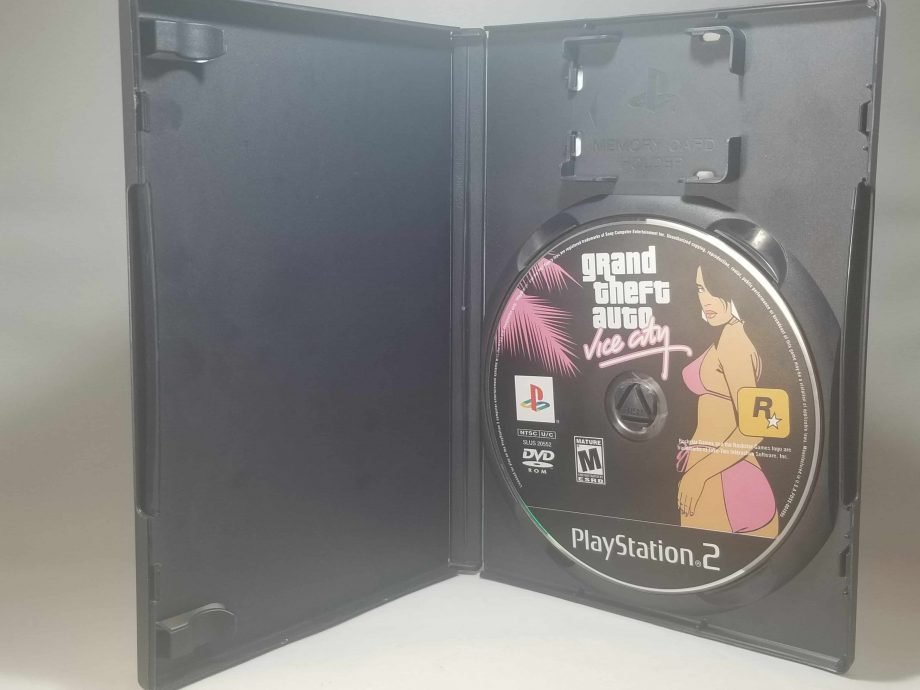 Grand Theft Auto Vice City Disc