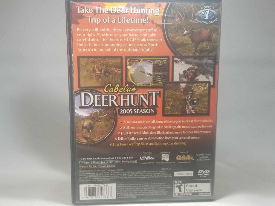 Cabela's Deer Hunt 2005 Season Back