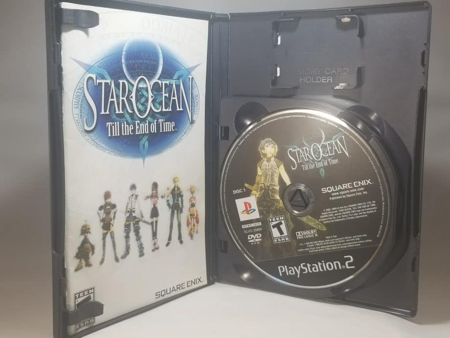 Star Ocean Till The End Of Time Disc 1