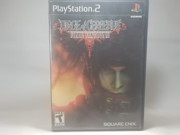 Dirge Of Cerberus Final Fantasy VII Front