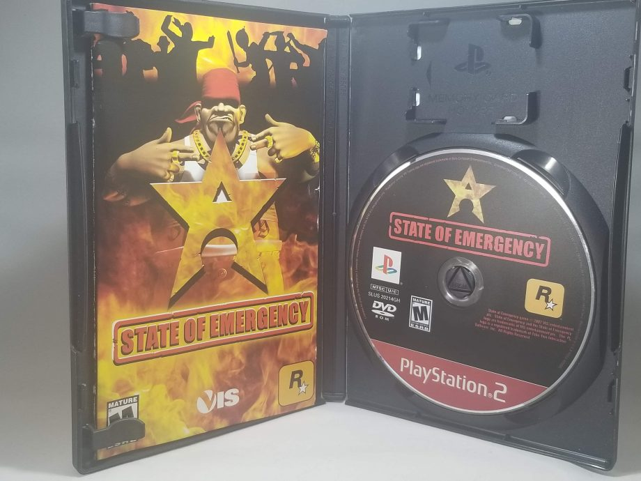 State Of Emergency Disc
