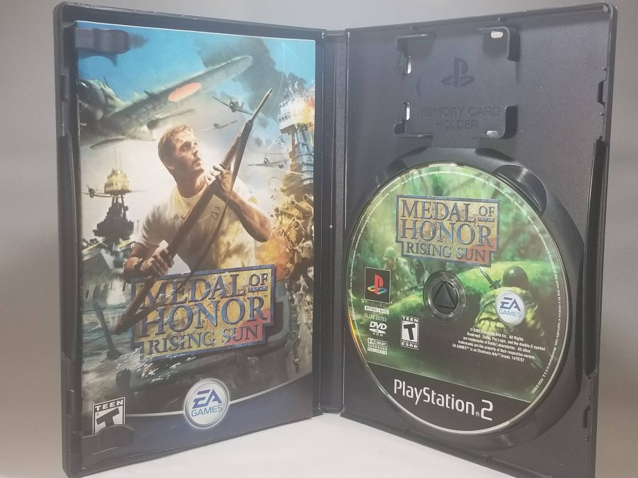 Medal Of Honor Rising Sun Disc